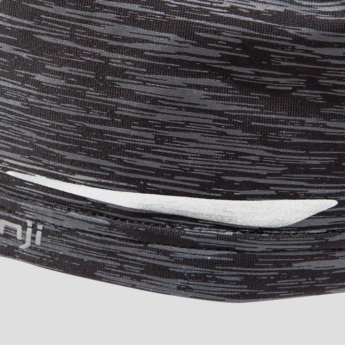 Laufmütze Run Night grau/schwarz meliert