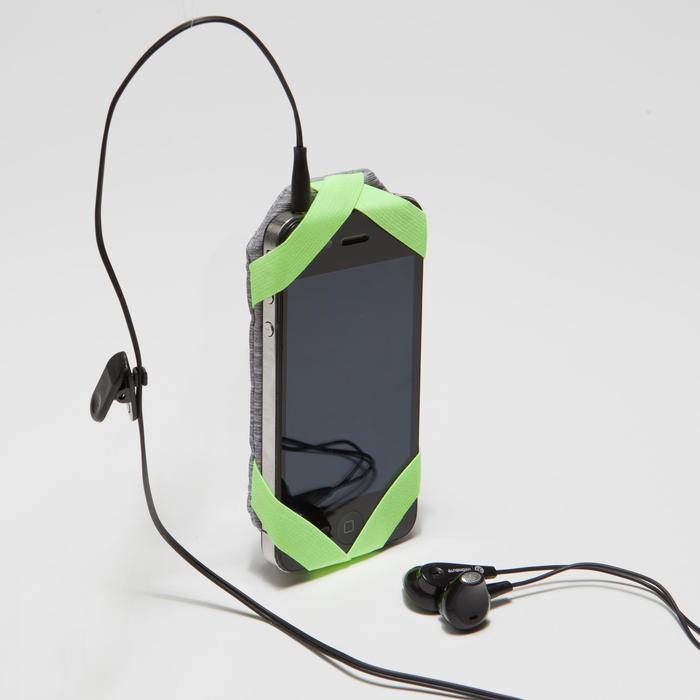 PORTA SMARTPHONE EN LA MANO RUNNING GRIS