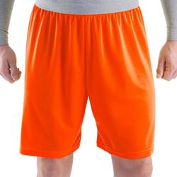 Short de football adulte F100 orange