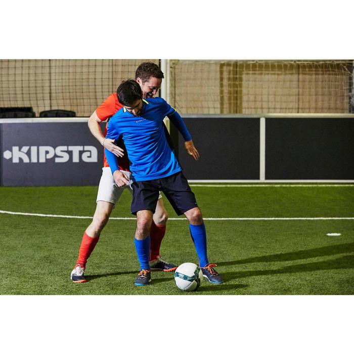 Sous-vêtement de football manches longues adulte Keepdry 500 bleu électrique