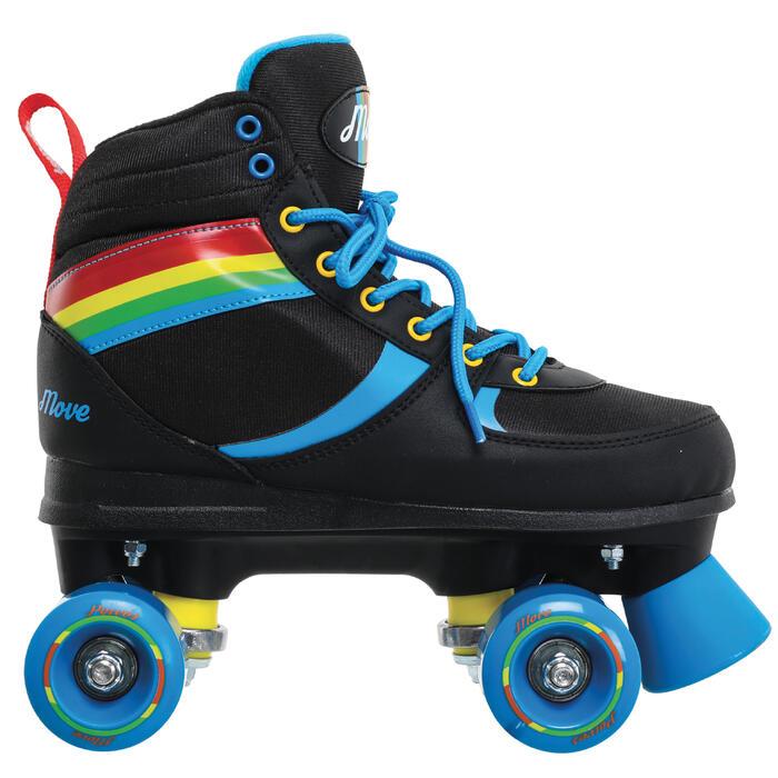 Fitness-Rollschuhe Power Rainbow Kinder