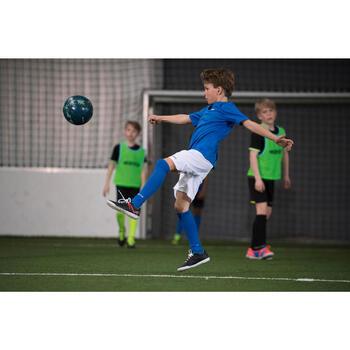 Balón de fútbol 5 Society 100 Híbrido talla 4 verde caqui