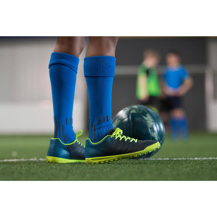 Fußball Indoor Soccer 100 Hybrid Gr. 4 kakigrün