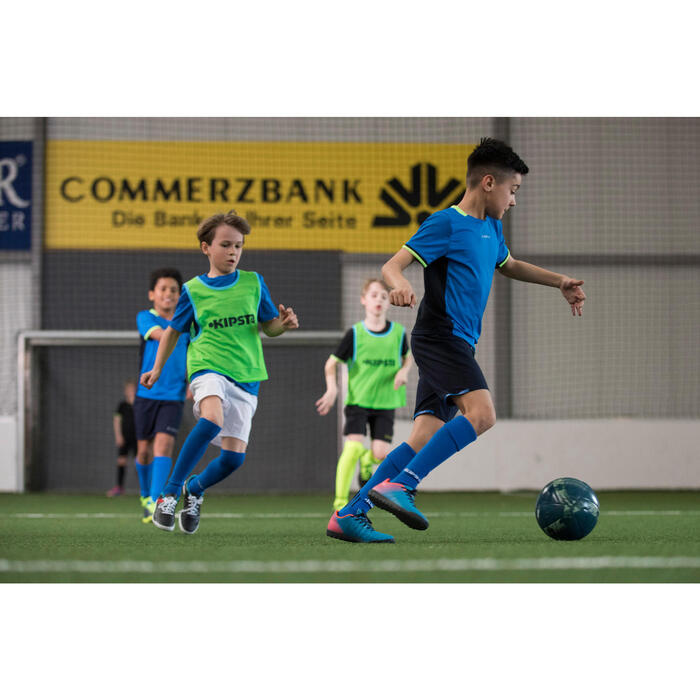 Chaussure de football enfant terrains durs Agility 300 HG bleue - 1208830