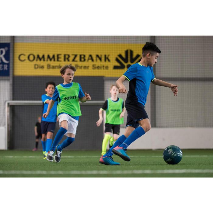 Chaussure de football enfant terrains durs CLR 500 HG bleue - 1208830