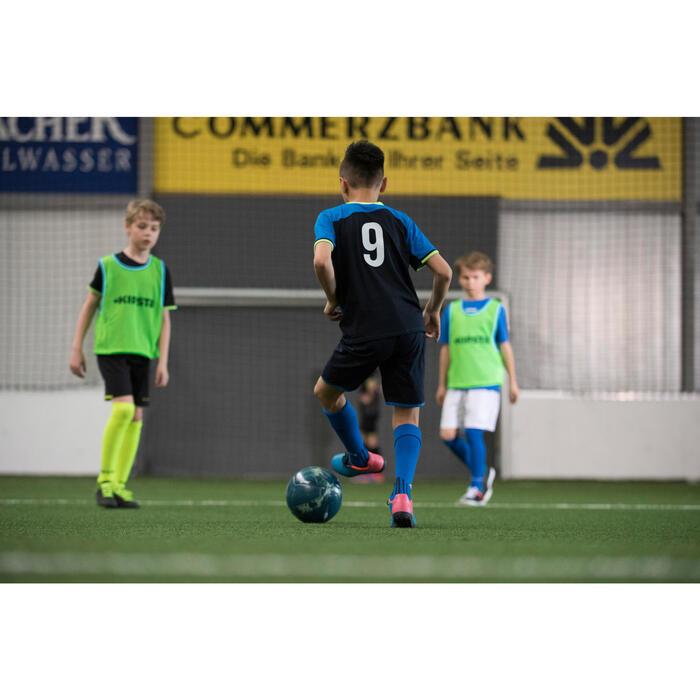 Chaussure de football enfant terrains durs CLR 500 HG bleue - 1208832