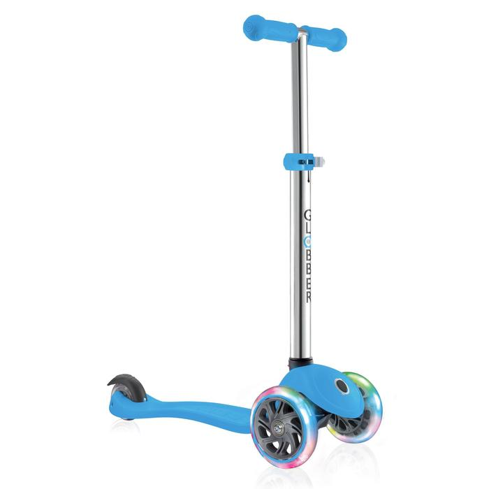 TROTTINETTE ENFANT GLOBBER PRIMO LIGHTS BLEUE - 1208845