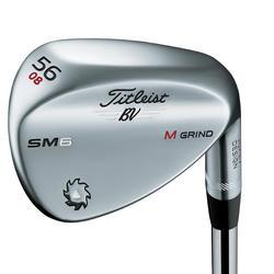 Golfclub wedge voor heren, rechtshandig, Vockey SM6 chroom - 1208946