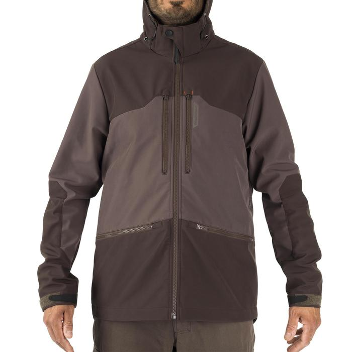 SOFTSHELL CAZA 500 MARRÓN