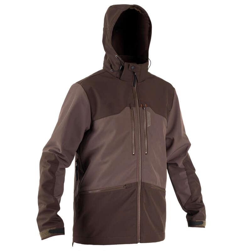 ÎMBRĂCĂMINTE ÎNTĂRITĂ VÂNĂTOARE Vanatoare - Jachetă Softshell 500  SOLOGNAC - Imbracaminte