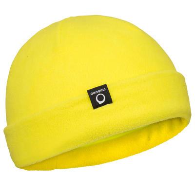 Bonnet polaire bateau jaune