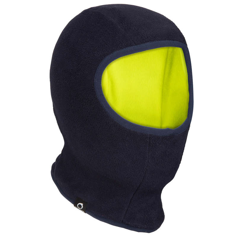 SAILOR ACCESSORIES Dinghy Sailing - Fleece Balaclava - Navy/Yellow TRIBORD - Dinghy Sailing