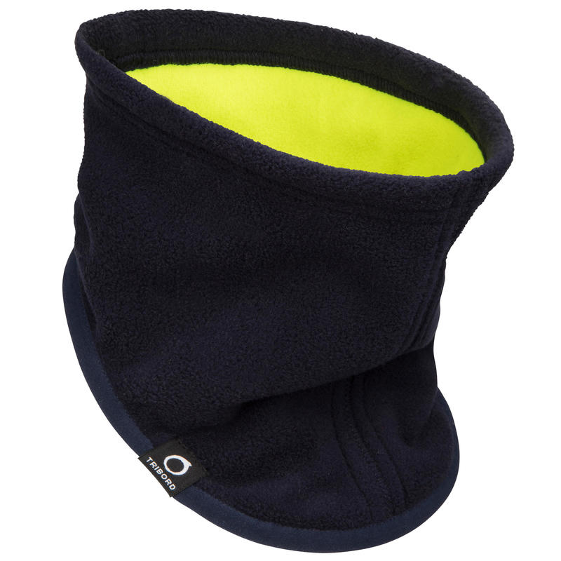 Sailing Fleece Neck Warmer - Navy Blue / Yellow