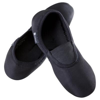 Zapatillas de malla Gimnasia Artística 500 negro