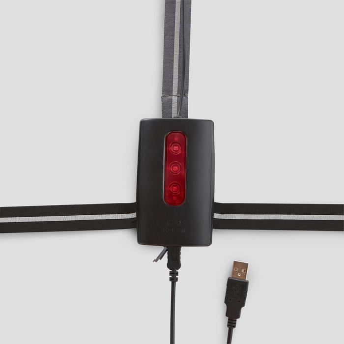 Lamp voor hardlopen Run Light 250 zwart