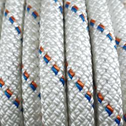 Semi-statisch touw Stat van 10,5 mm x 50 m - wit