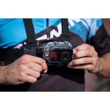Sportcamera G-Eye 900 4K en Full HD met touchscreen.