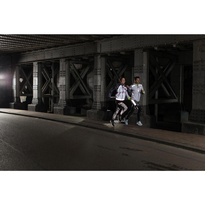 Linterna Frontal Running Kalenji Run Light 100 Negro / 100 Lúmenes