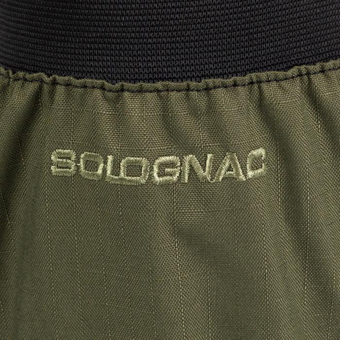 Polainas Caza Solognac SG100W Impermeable Verde