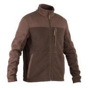 Rjava lovska jakna iz flisa SG500