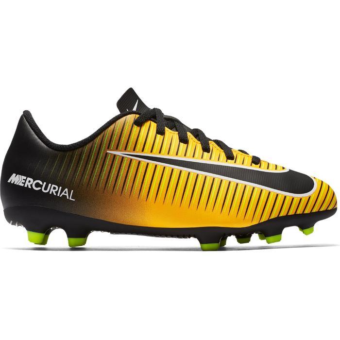 Chaussure de football enfant Mercurial Vortex FG orange - 1209142