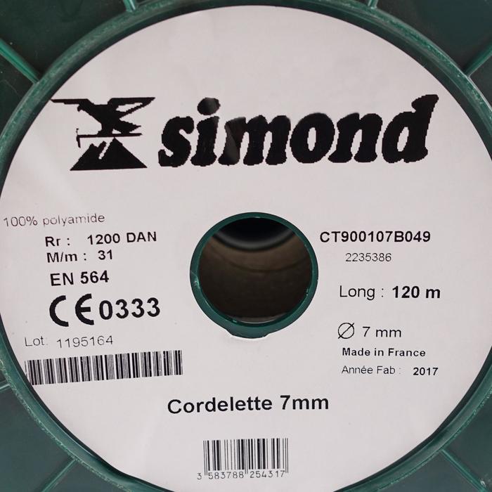 CORDINO POR METROS 7 mm