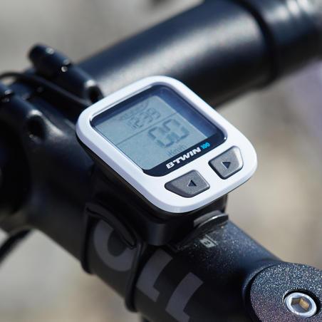 Cyclomètre Btwin100 avec fil