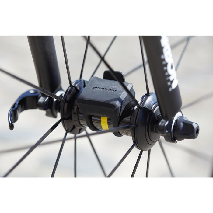 Fahrradcomputer B'TWIN 500 kabellos schwarz