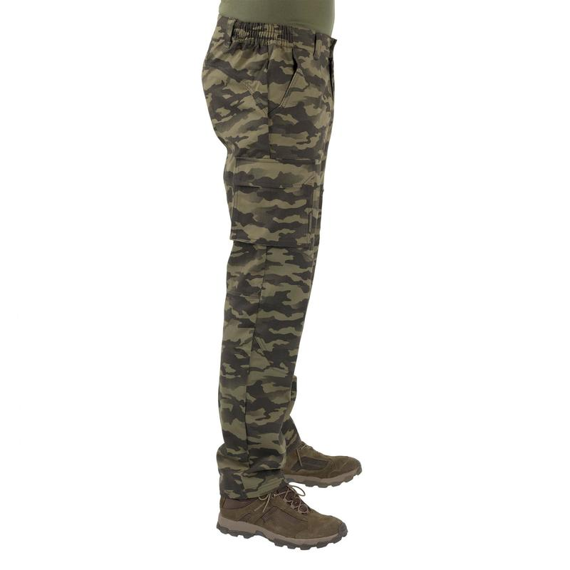 new season browse latest collections beauty Small game field clothes - Hunting trousers 520 camouflage khaki