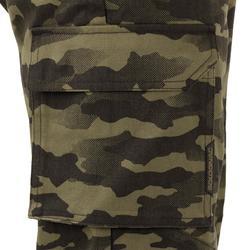 Pantalón de caza 520 camuflaje caqui