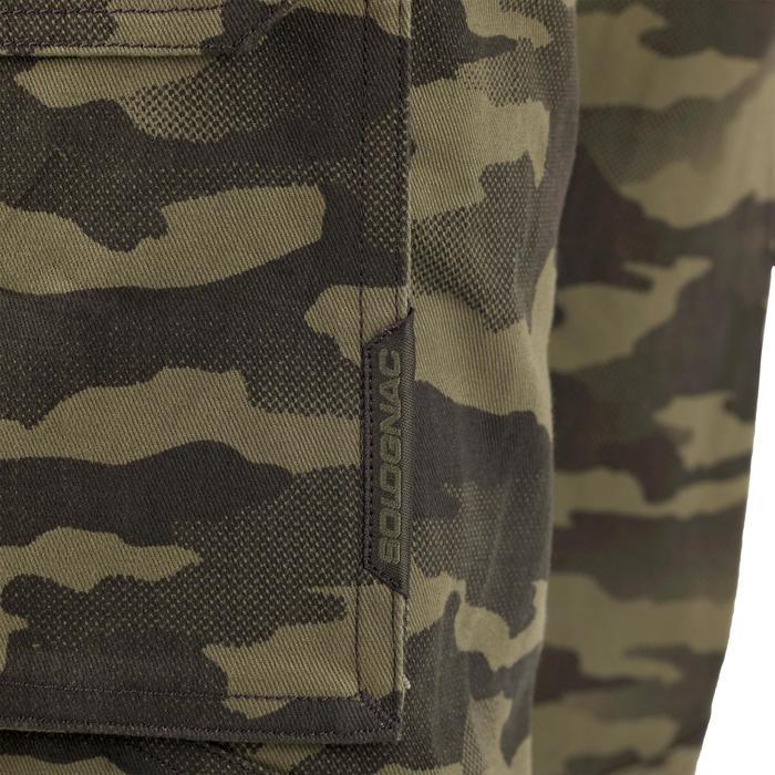 Pantalon chasse 520 camouflage kaki