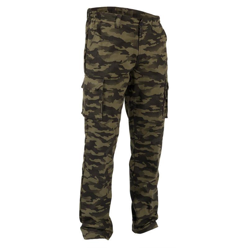 520 Camouflage Hunting Trousers - Khaki