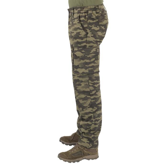 Pantalón Caza Solognac Sg 500 Camuflaje Militar Verde