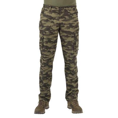 Hunting trousers 520 camouflage khaki