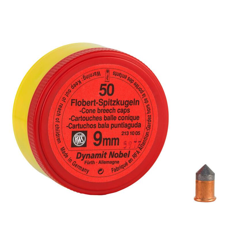 Balle conique 9 mm