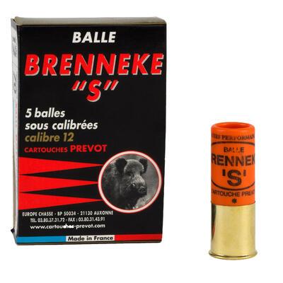 Cartouche Brenneke S