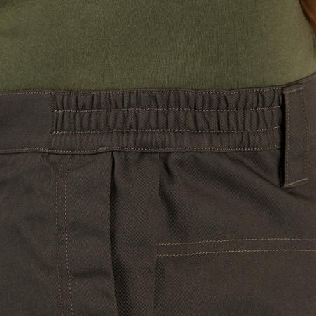 Bermuda hunting shorts 100 - green