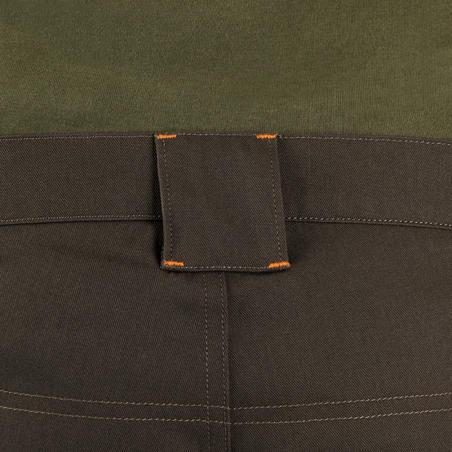 100 Bermuda shorts green