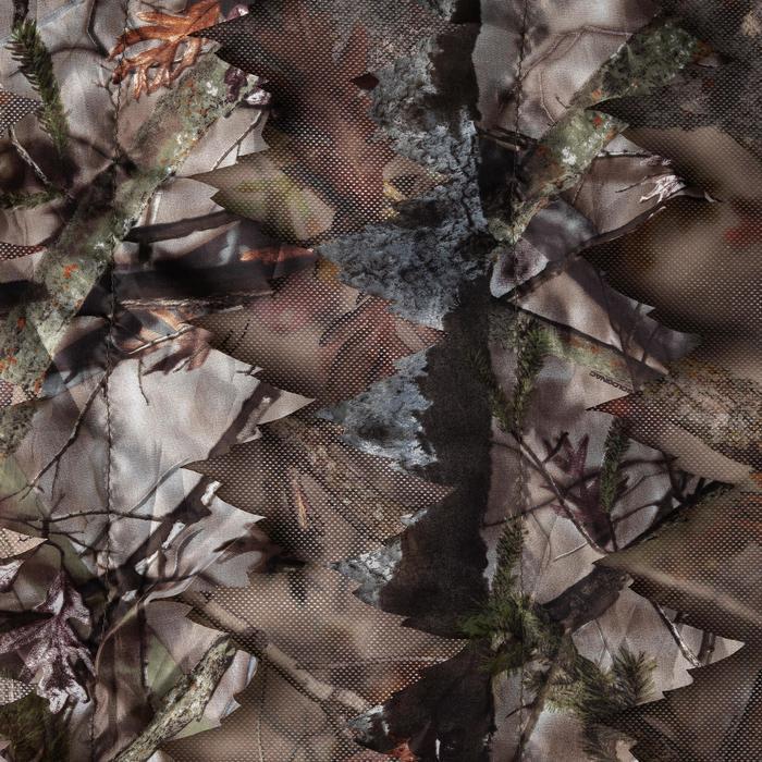 3D-camouflagenet voor de jacht 1,4 x 3,8 m bruin