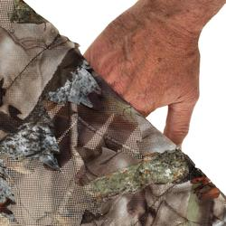 FILET CHASSE CAMOUFLAGE 3D 1,4Mx3,8M MARRON