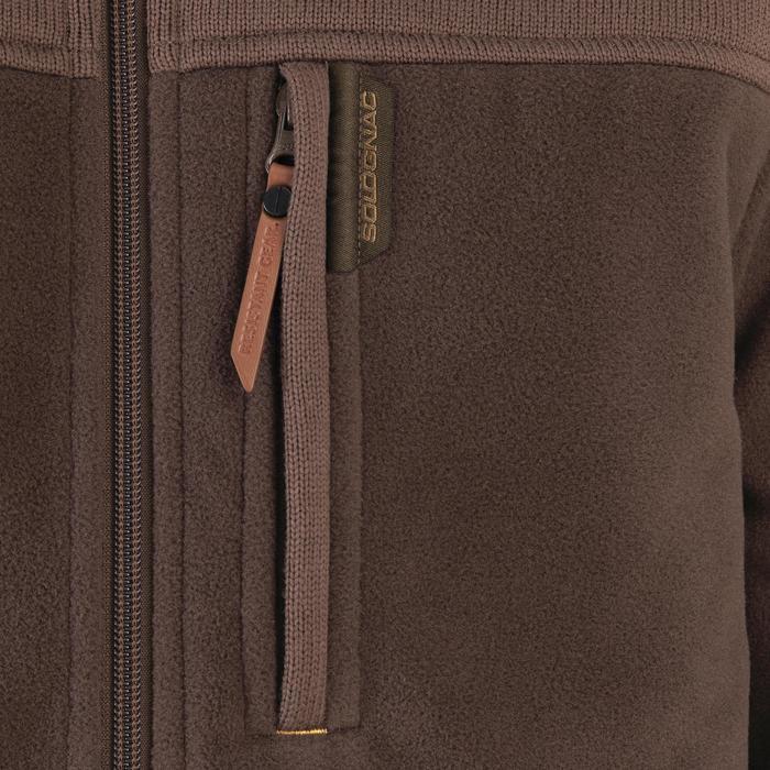 Polaire chasse SG500 marron