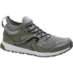 Nordic Walking 500 Men's Nordic Walking Shoes - Khaki/Black