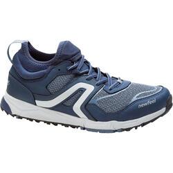 Zapatillas de marcha nórdica hombre NW 500 Flex-H azul marino / gris