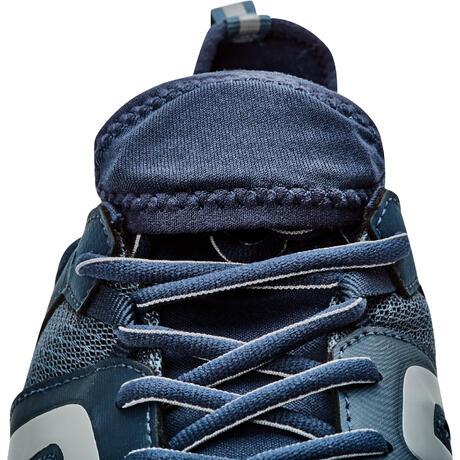 chaussures marche nordique homme nw500 bleu gris newfeel. Black Bedroom Furniture Sets. Home Design Ideas