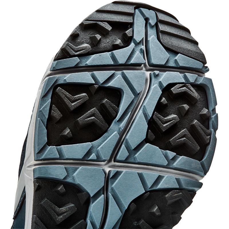 Walking shoes for Men Nordic walking NW 500 - navy blue/grey