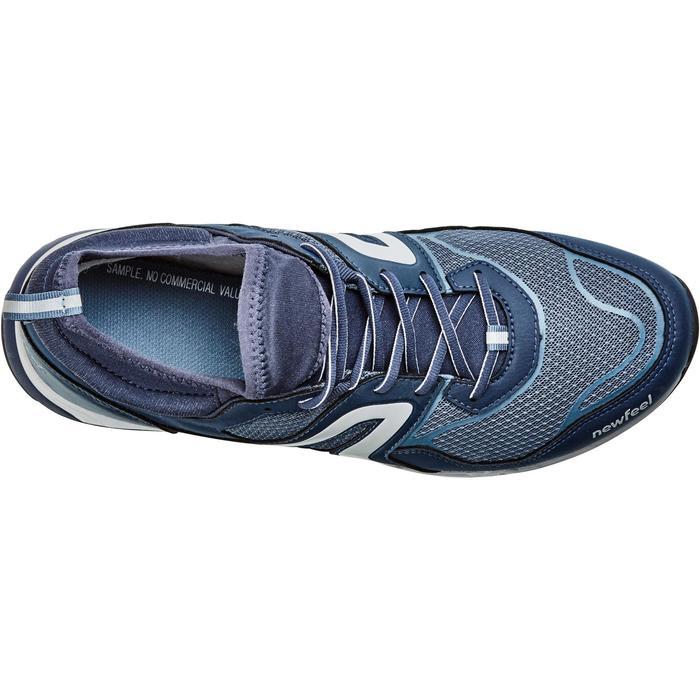Nordic Walkingschuhe NW 500 FlexH Herren marineblau/grau