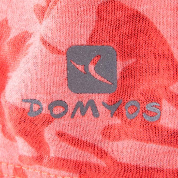 Mouwloos dansshirt voor dames oranje