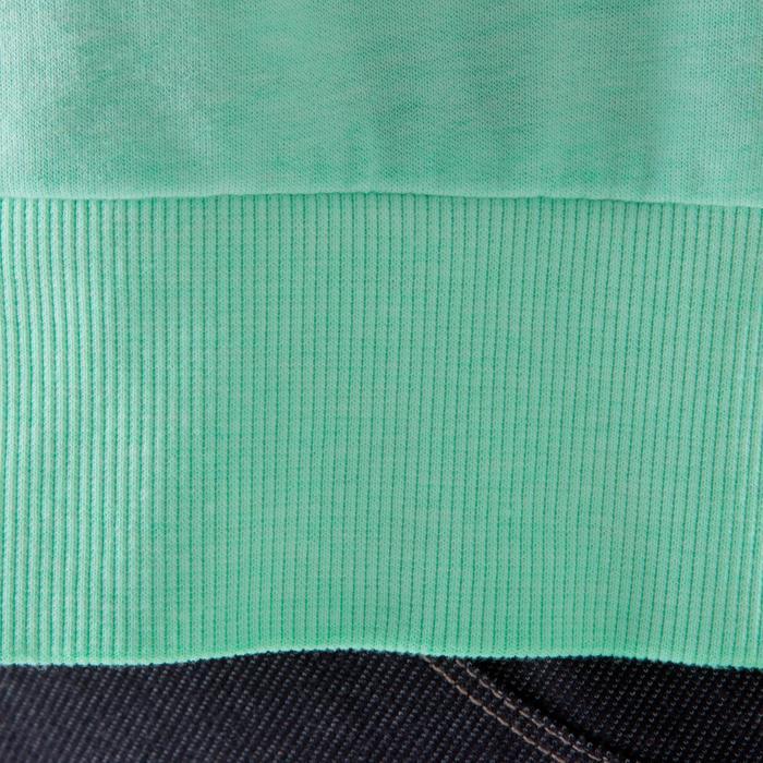 Sweat danse femme vert menthe. - 1209866