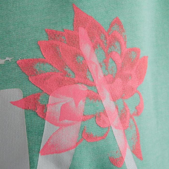 Sweat danse femme vert menthe. - 1209892