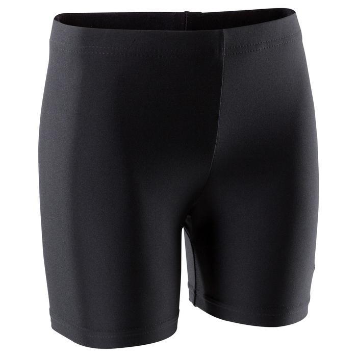 Shorty Gymnastique Fille (GAF et GR) noir 100 - 1209902